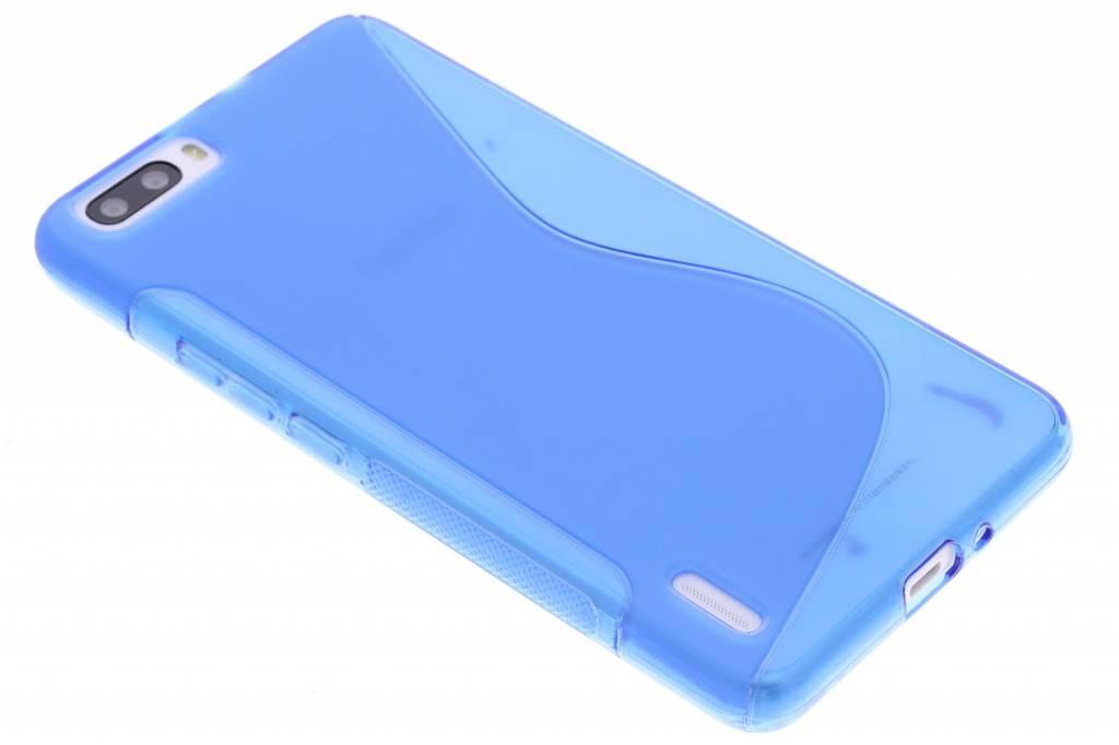Blauw S-line TPU hoesje voor de Honor 6 Plus