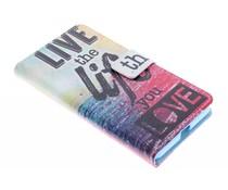 Design TPU booktype hoes Microsoft Lumia 640