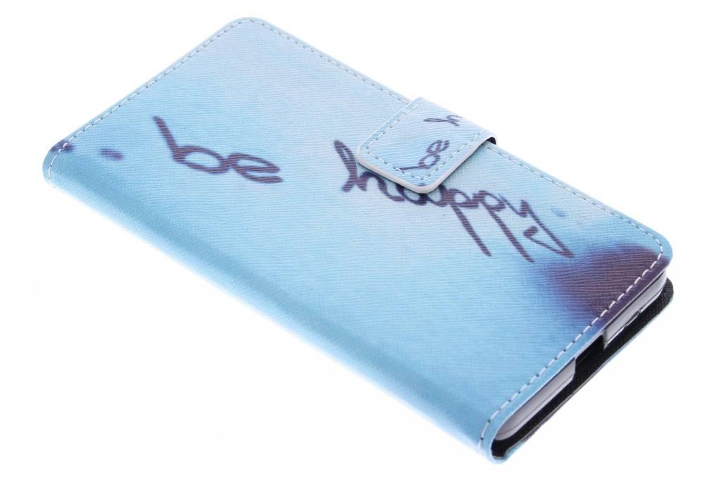 Be happy design TPU booktype hoes voor de Microsoft Lumia 640