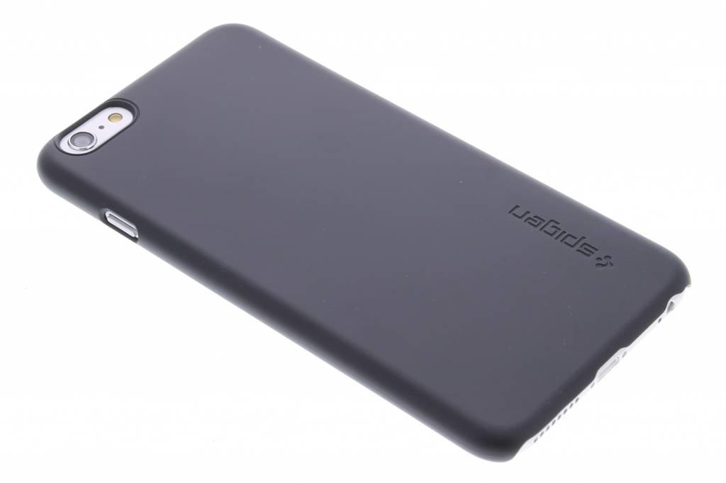 Spigen Thin Fit Hardcase voor de iPhone 6(s) Plus - Smooth Black
