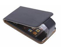 Zwart classic flipcase iPod Touch 4g
