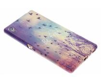 Design TPU siliconen hoesje Sony Xperia Z3 Plus