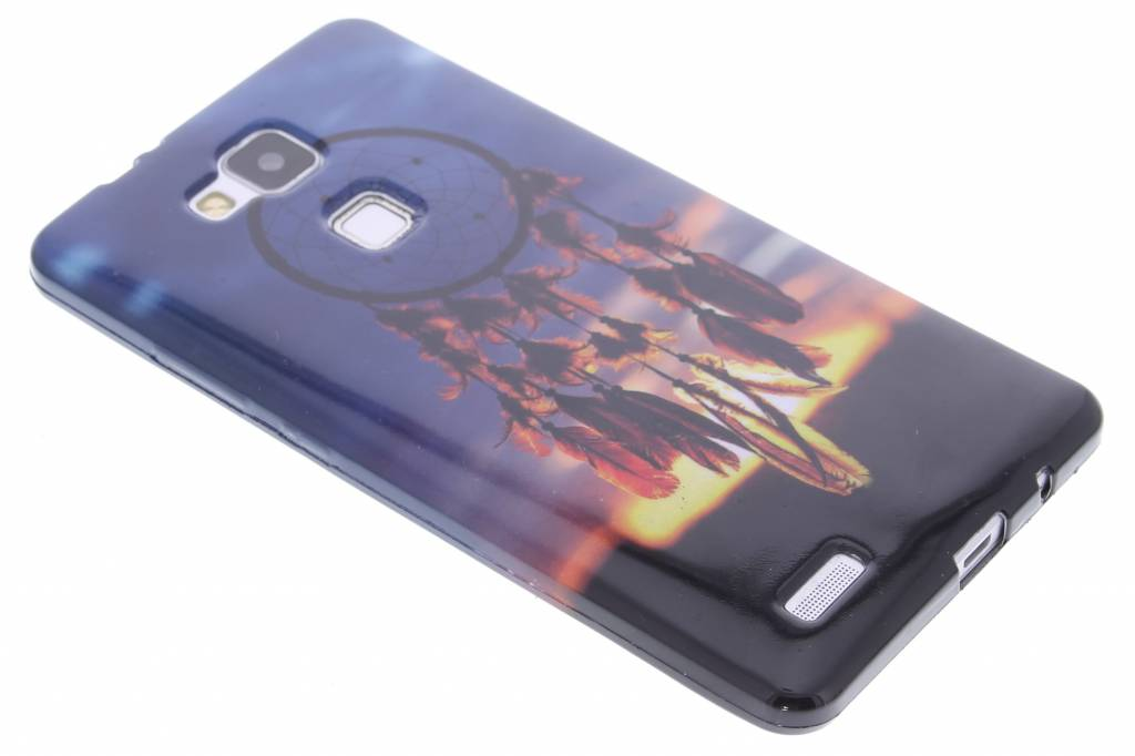 Dromenvanger design TPU siliconen hoesje voor de Huawei Ascend Mate 7
