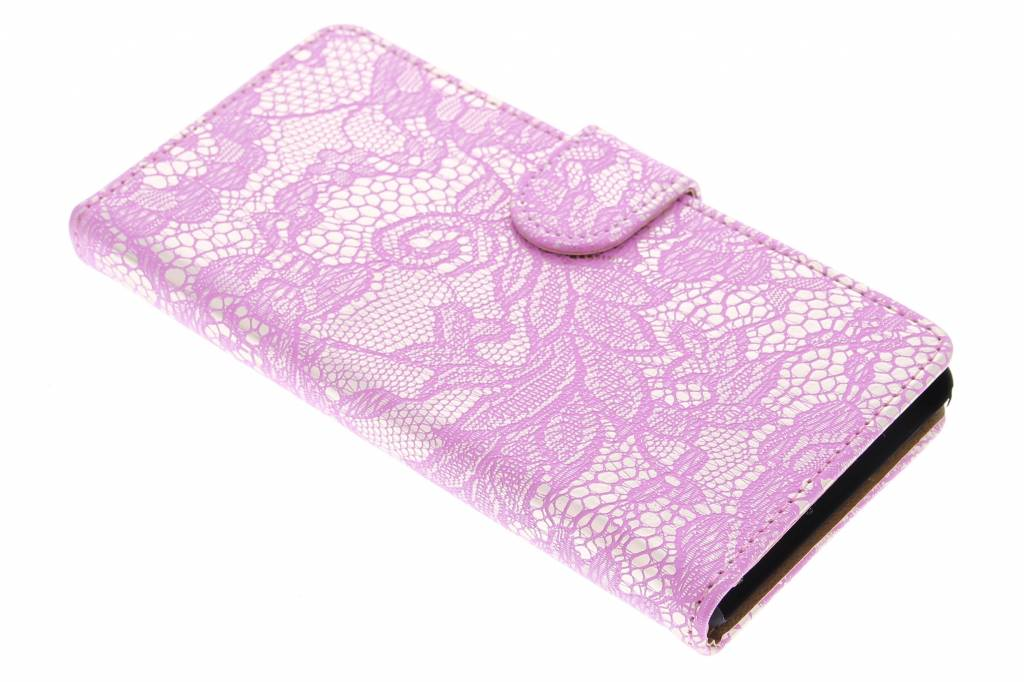 Roze glamour design booktype hoes Sony Xperia M4 Aqua