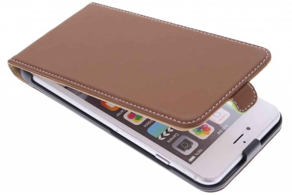 Muvit Slim Flipcase voor de iPhone 6(s) Plus - Bruin