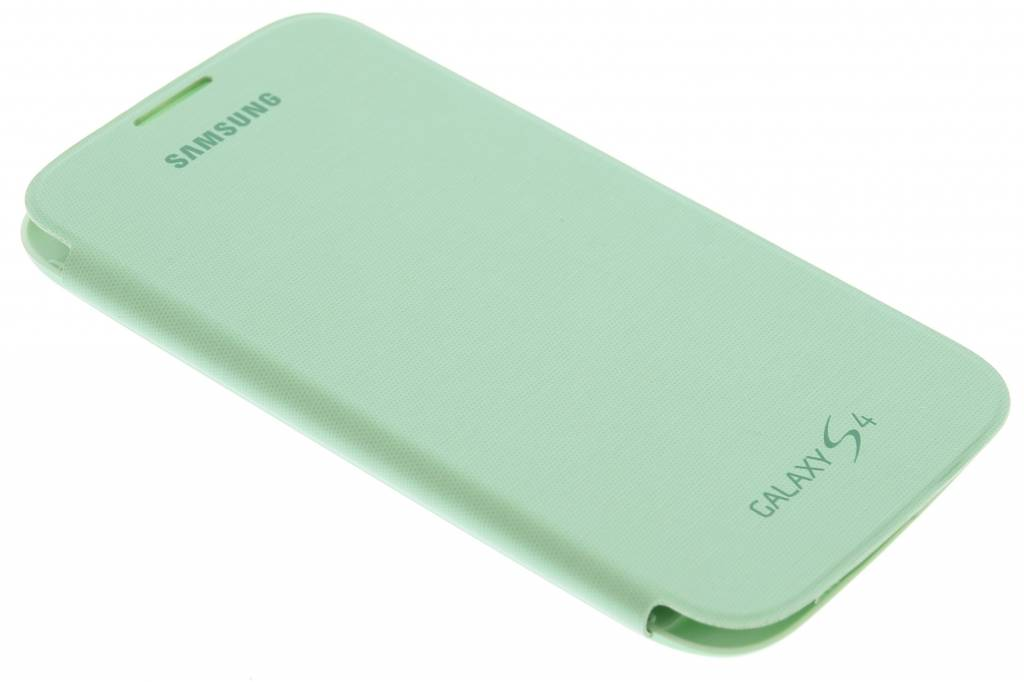 Samsung originele Flip Cover voor de Samsung Galaxy S4 - groen