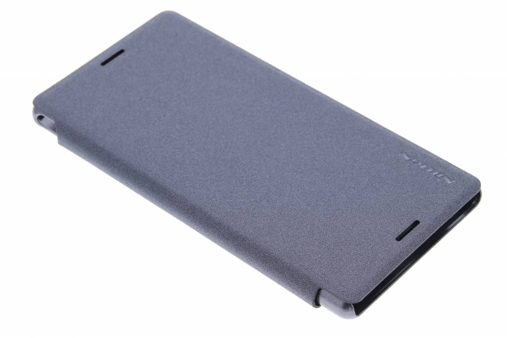 Nillkin Sparkle slim booktype voor de Sony Xperia M4 Aqua - Zwart