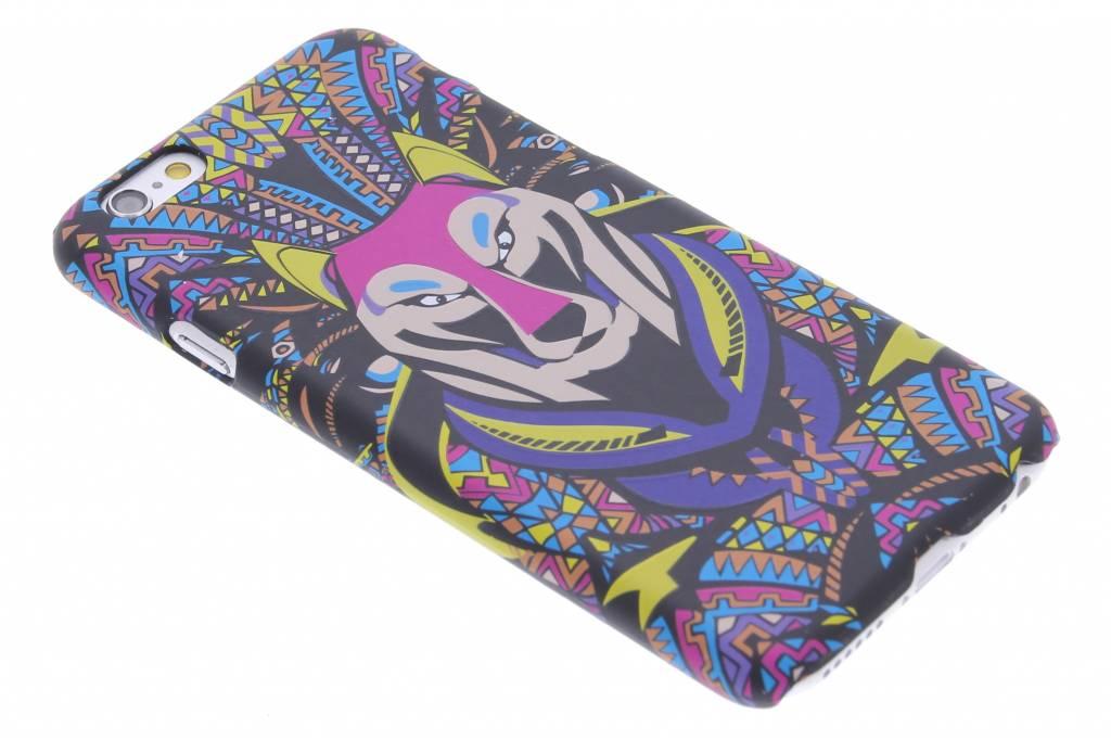 Wolf aztec animal design hardcase hoesje voor de iPhone 6 / 6s