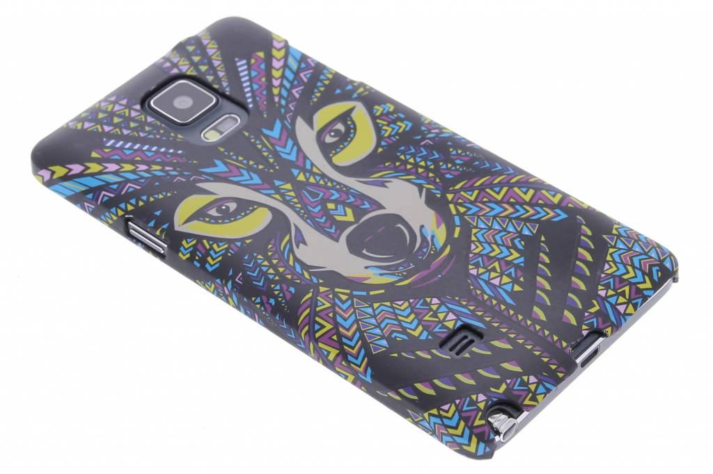 Wolf aztec animal design hardcase hoesje voor de Samsung Galaxy Note 4