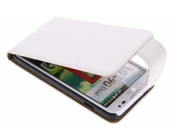 Wit classic flipcase LG L90