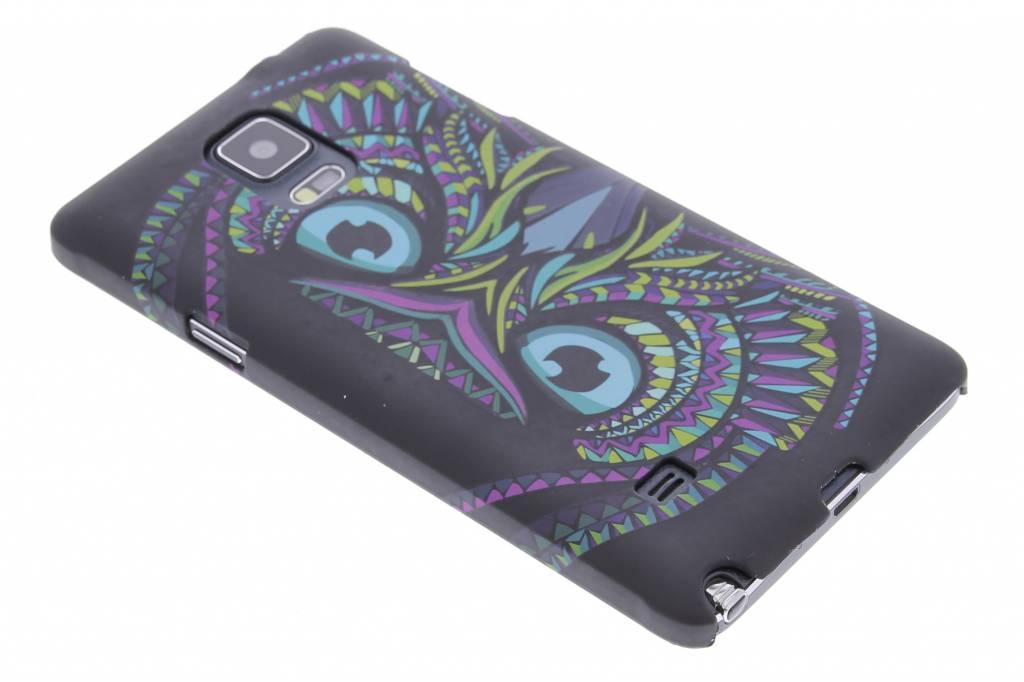 Uil aztec animal design hardcase hoesje voor de Samsung Galaxy Note 4