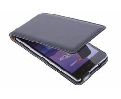 Selencia Luxe Flipcase Huawei P8 Lite - Zwart