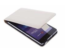 Selencia Luxe Flipcase Huawei P8 Lite - Wit
