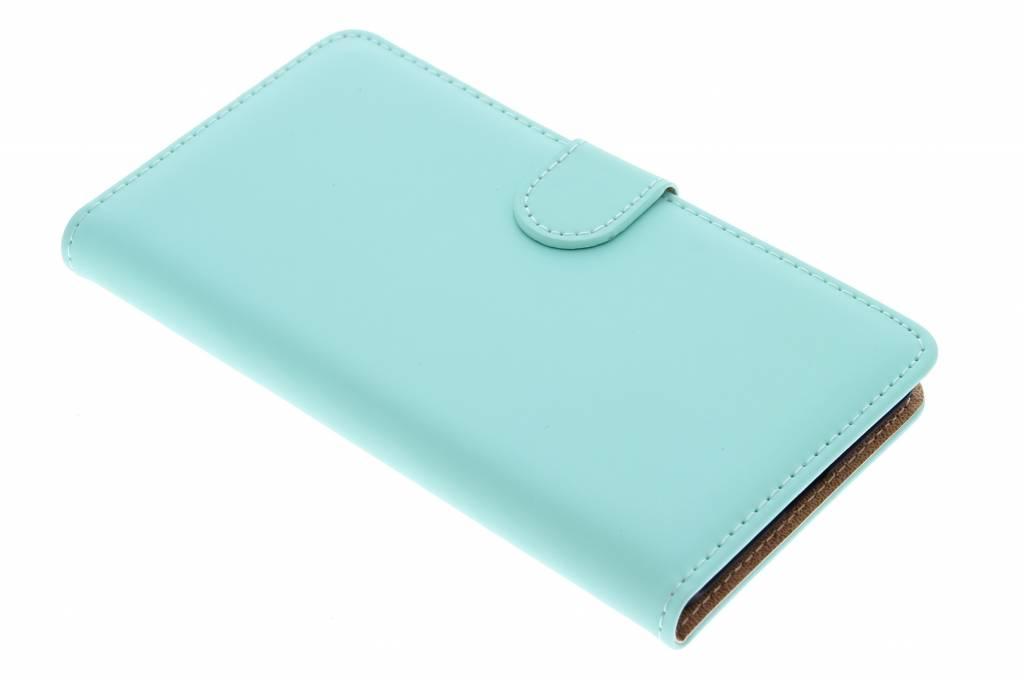 Selencia Luxe Book Case voor de Huawei P8 Lite - Mintgroen