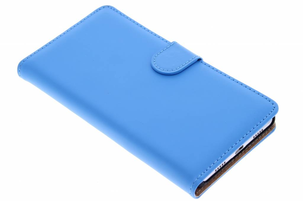Selencia Luxe Book Case voor de Huawei P8 Lite - Blauw
