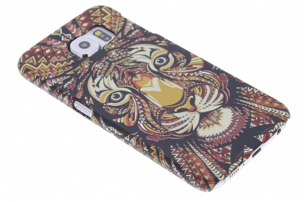Tijger aztec animal design hardcase hoesje voor de Samsung Galaxy S6
