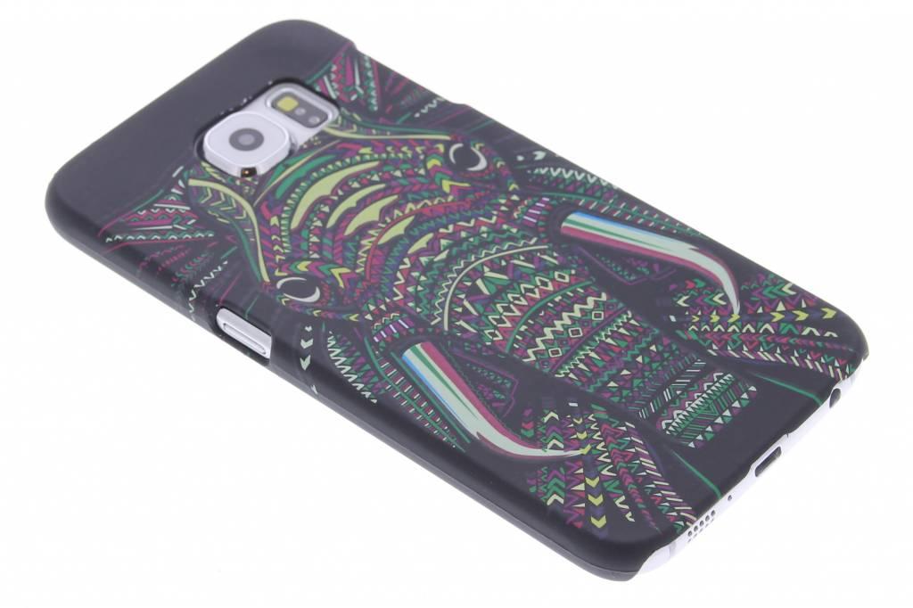 Olifant aztec animal design hardcase hoesje voor de Samsung Galaxy S6
