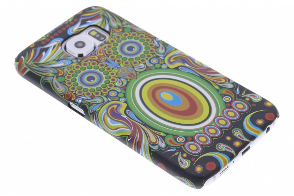 Uil aztec animal design hardcase hoesje voor de Samsung Galaxy S6