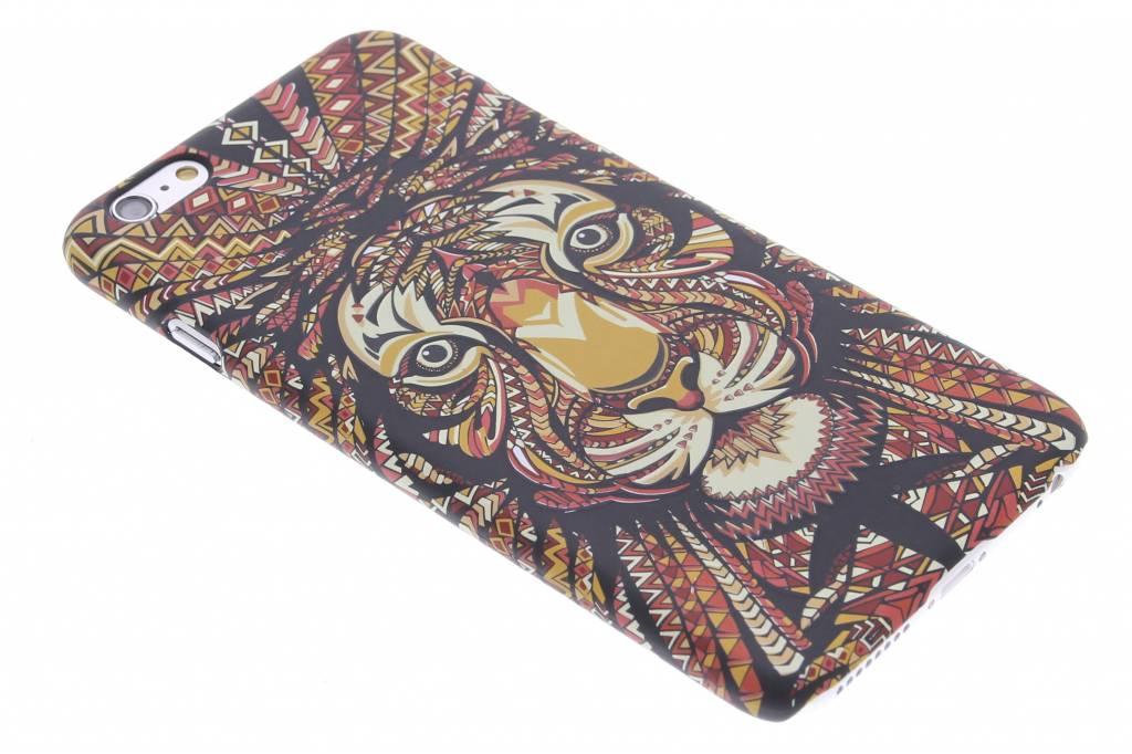Tijger aztec animal design hardcase hoesje voor de iPhone 6(s) Plus