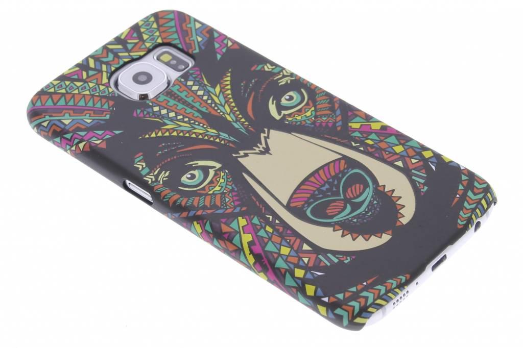 Beer aztec animal design voor de hardcase Samsung Galaxy S6