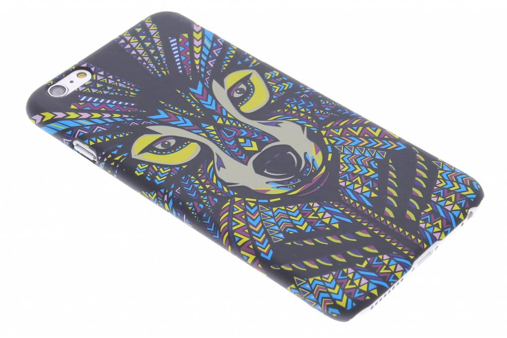 Wolf aztec animal design hardcase hoesje voor de iPhone 6(s) Plus
