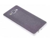 Zwart glitter TPU siliconen hoesje Samsung Galaxy A5