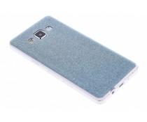 Turquoise glitter TPU siliconen hoesje Samsung Galaxy A5