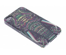 Aztec animal design hardcase hoesje iPhone 4 / 4s