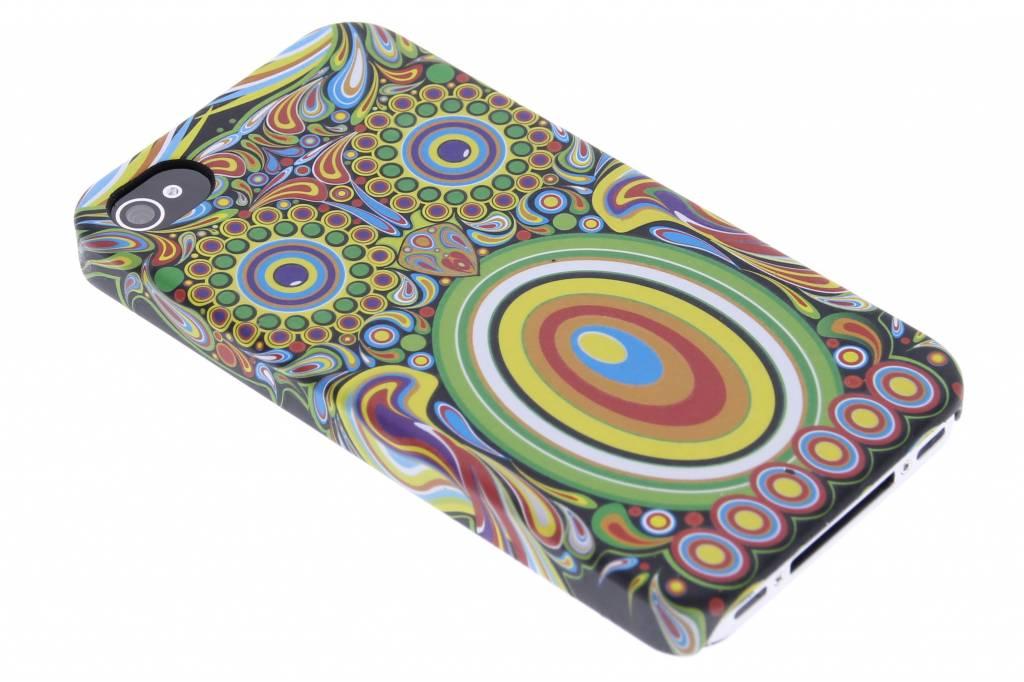Uil aztec animal design hardcase voor de iPhone 4 / 4s
