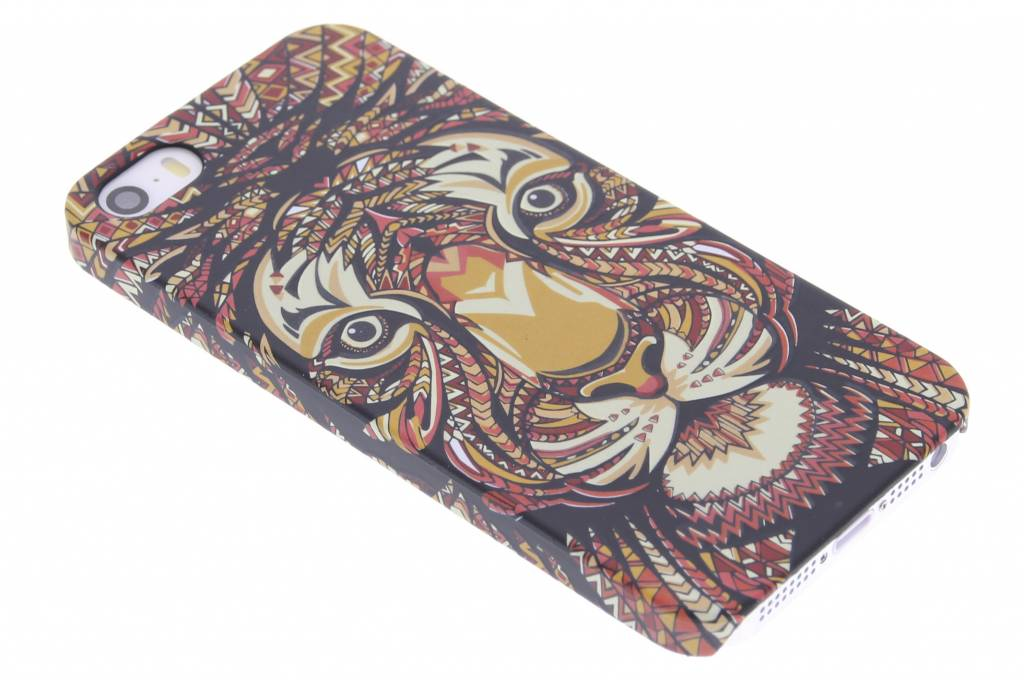 Tijger aztec animal design hardcase hoesje voor de iPhone 5 / 5s / SE