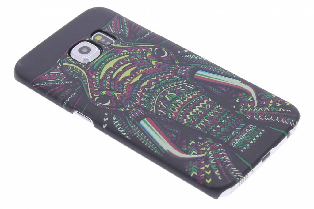 Olifant aztec animal design hardcase voor de Samsung Galaxy S6 Edge