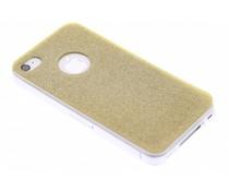 Goud glitter TPU siliconen hoesje iPhone 4 / 4s