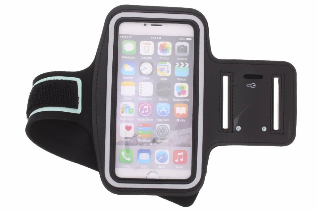 Zwarte sportarmband voor de iPhone 6(s) Plus