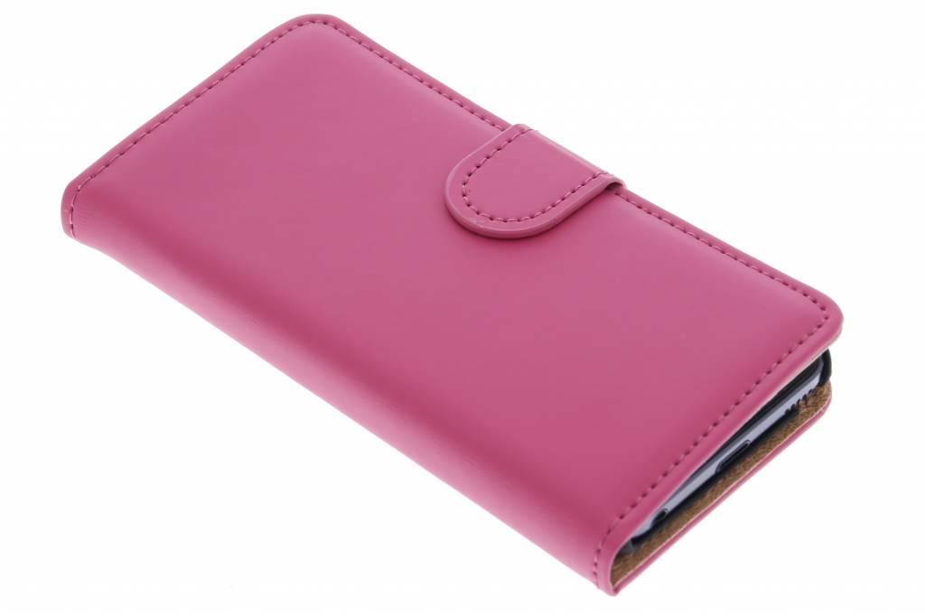 Selencia Luxe Book Case voor de iPod Touch 5g / 6 - Fuchsia
