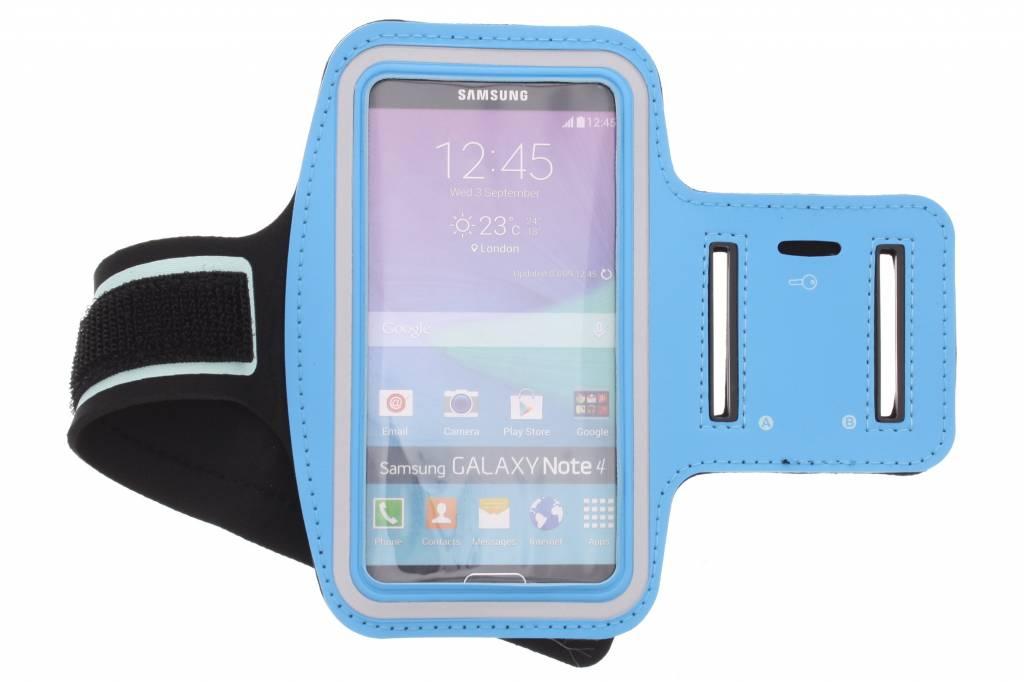 Blauwe sportarmband voor de Samsung Galaxy Note 4