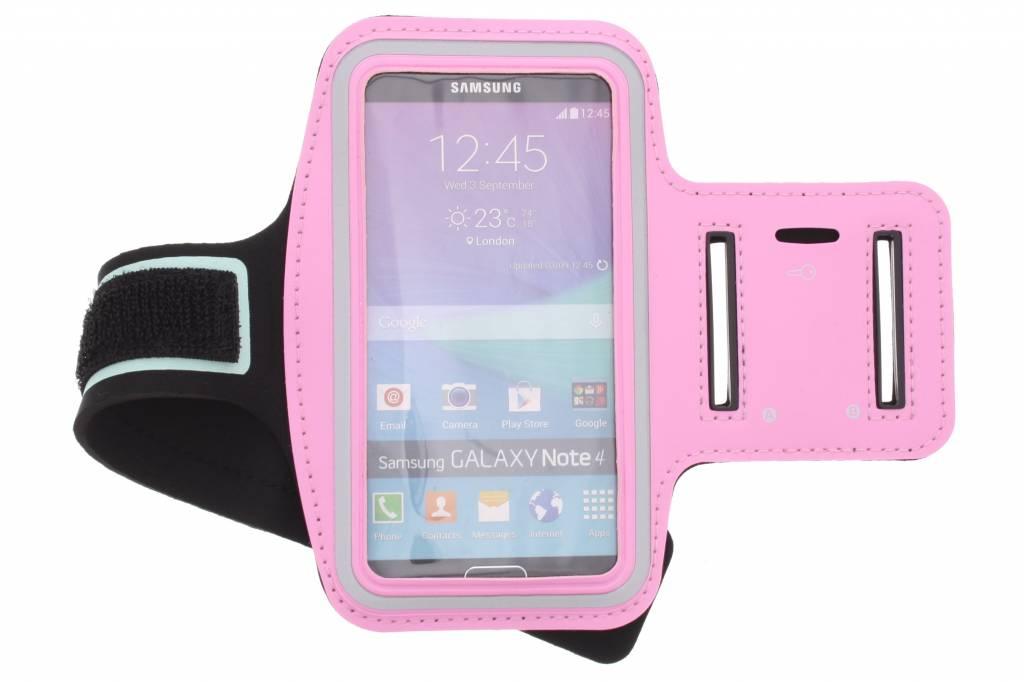 Roze sportarmband voor de Samsung Galaxy Note 4