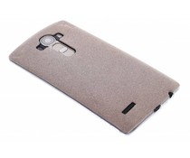 Brons glitter TPU siliconen hoesje LG G4