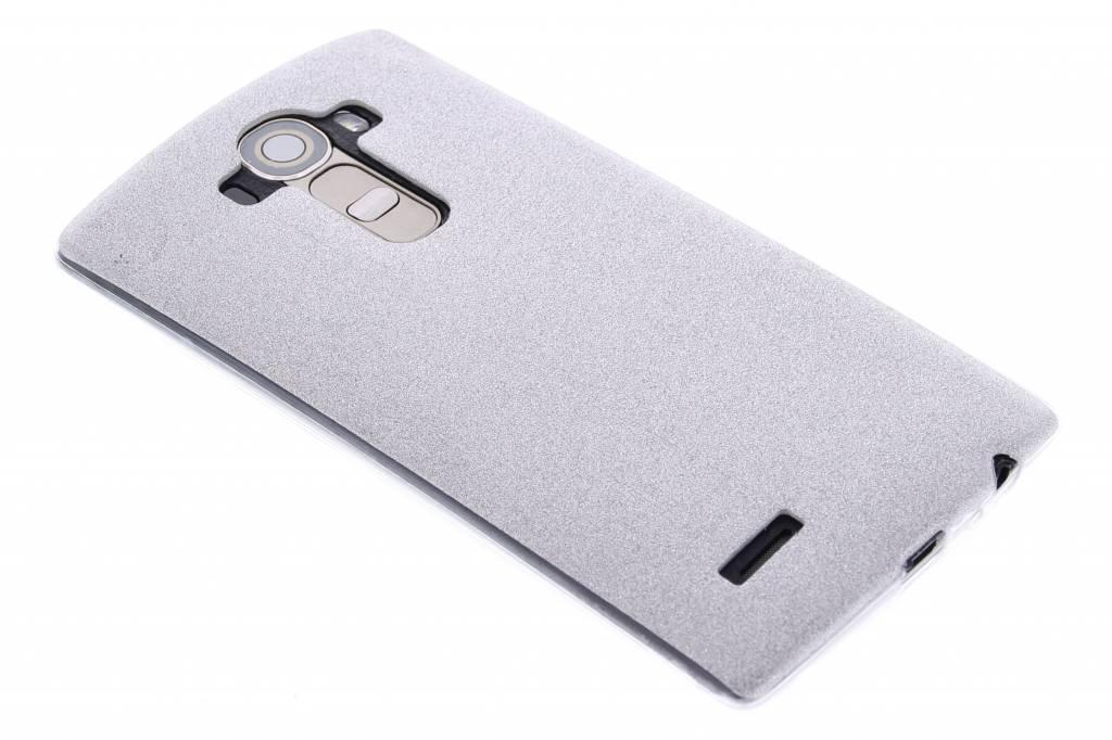 Zilver glitter TPU siliconen hoesje voor de LG G4