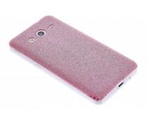 Glitter TPU siliconen hoesje Samsung Galaxy Core 2