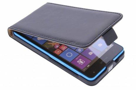 Cas Flip Noir Élégant Pour Microsoft Lumia 535 RkF9w0