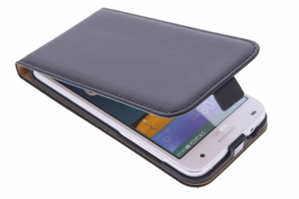Selencia Luxe Flipcase voor de Huawei Ascend G7 - Zwart