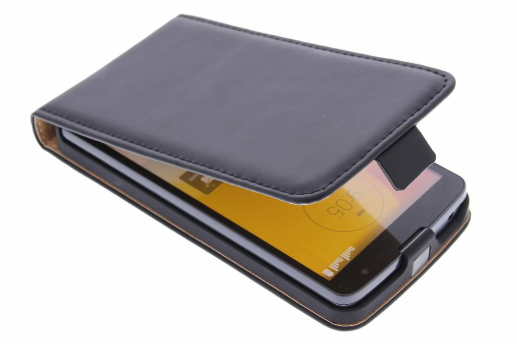 Selencia Luxe Flipcase voor de LG L Bello / L80 Plus - Zwart