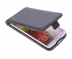 Selencia Luxe Flipcase LG G2 - Zwart
