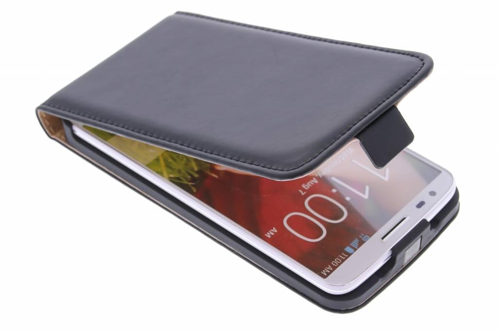 Selencia Luxe Flipcase voor de LG G2 - Zwart