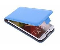 Selencia Luxe Flipcase LG G2 - Blauw