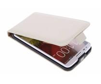 Selencia Luxe Flipcase LG G2 - Gebroken Wit