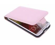 Selencia Luxe Flipcase LG G2 - Poederroze