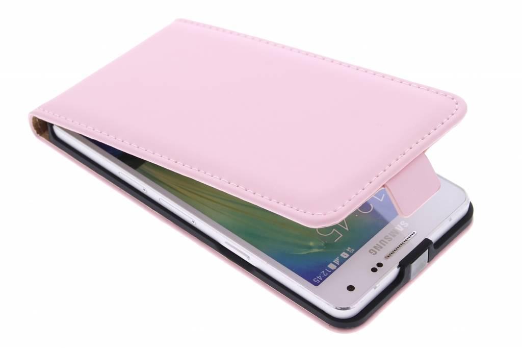 Selencia Luxe Flipcase voor de Samsung Galaxy A5 - Poederroze