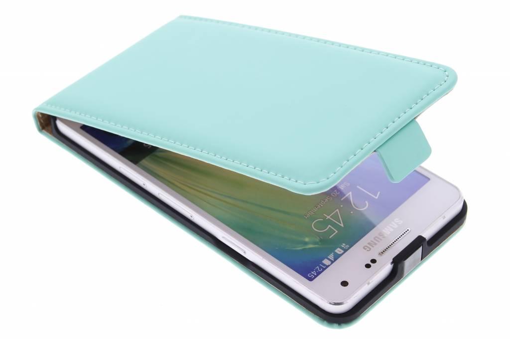 Selencia Luxe Flipcase voor de Samsung Galaxy A5 - Mintgroen