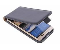 Selencia Luxe Flipcase HTC One M9 - Zwart